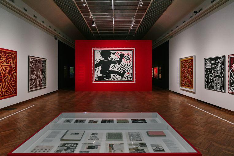 Keith Haring in Bozar. Beeld Bozar