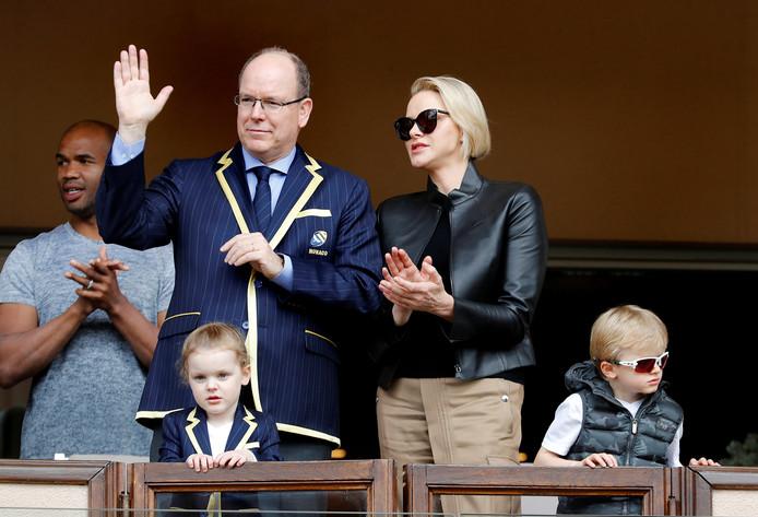 Le Prince, la Princesse et leurs jumeaux, le 11 mai 2019