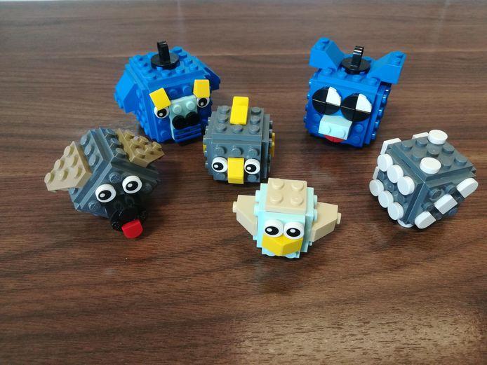 LEGOMASTERS at home: blokbeestjes.