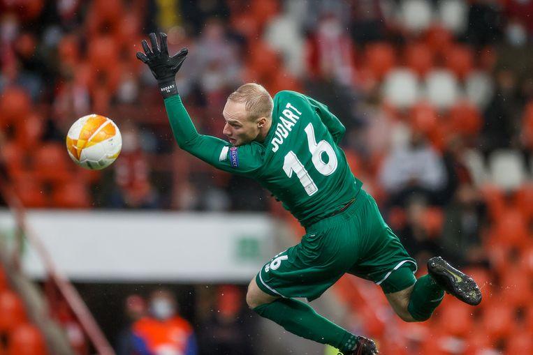 Keeper Arnaud Bodart van Standard. Beeld BELGA