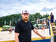 Internationaal beachvolleybaltalent knokt - stilletjes - voor wereldranglijstpunten in Apeldoorn