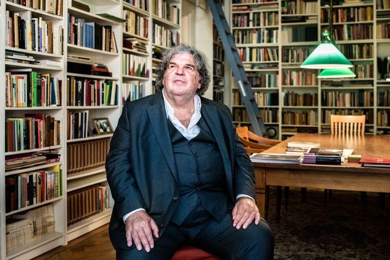 A.F.Th. Van der Heijden.  Beeld Simon Lenskens