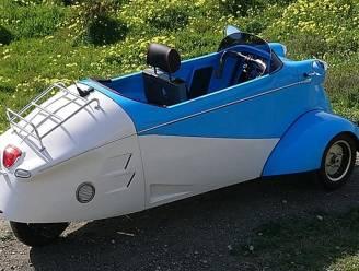Koddige Messerschmitt-driewieler keert terug