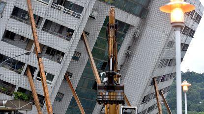 Nieuwe aardschok treft Taiwan