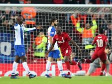 Liverpool heeft prima uitgangspositie na thuiszege op Porto