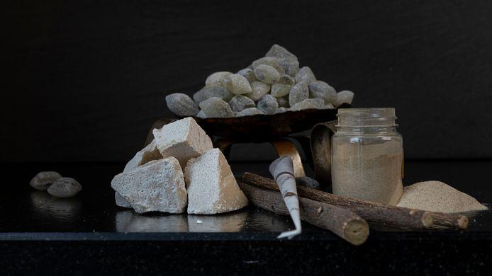 Zoete inval, een van de stillevens van de Helmondse stadskunstenaar Tahné Kleijn met producten van lokale ondernemers.