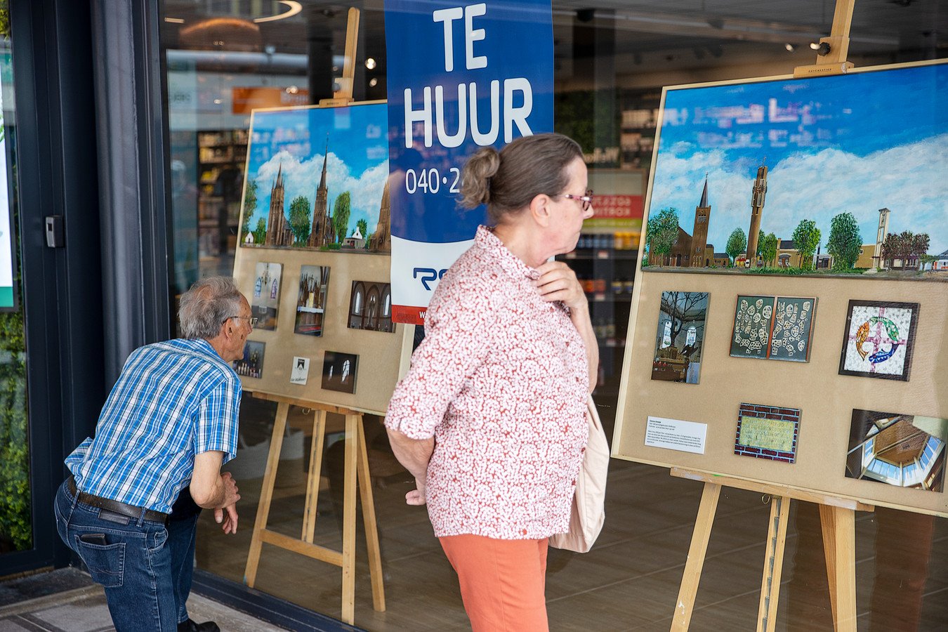 Op 24 locaties in het Citycentrum kan genoten worden van kunst binnen het thema 100 jaar Veldhoven.