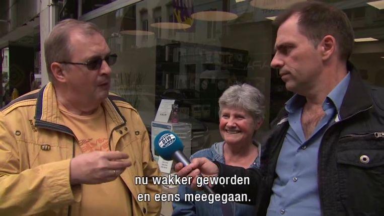 Luc Haekens in 'De ideale wereld'. Beeld rv DIW
