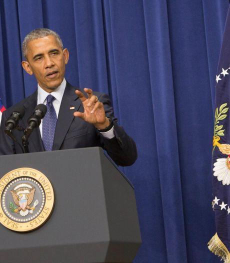 Obama dénonce l'amateurisme de Trump en politique étrangère