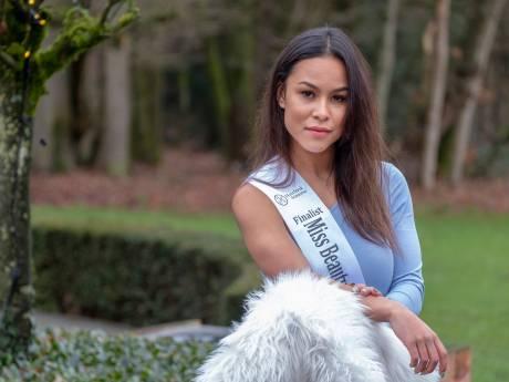 Charmaine (21) werd via haar Instagram gescout, nu is ze in de race voor de titel Miss Beauty of Gelderland