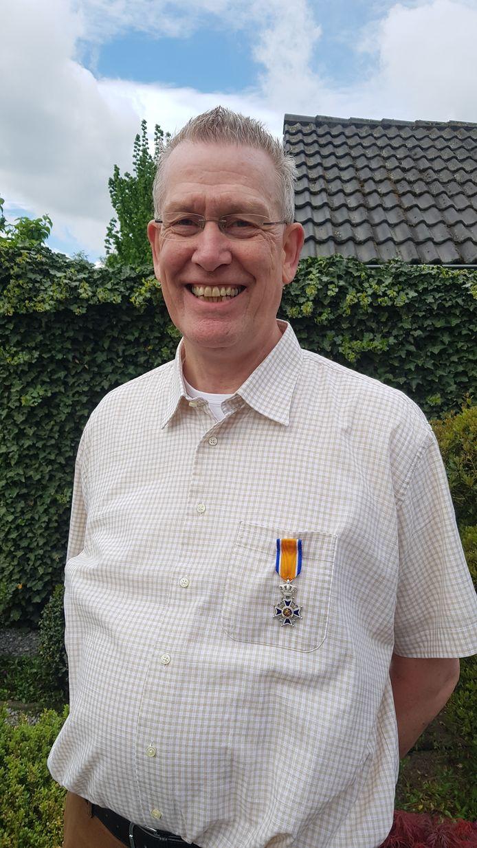 Wil van Meijl uit Budel-Schoot benoemd tot Lid in de Orde van Oranje-Nassau.