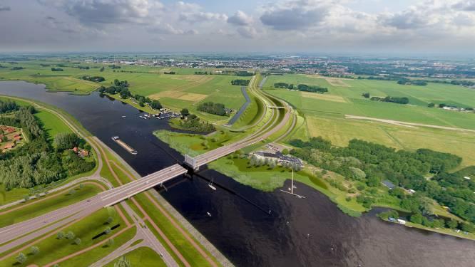 Bouw 'Roggebotbrug' tussen Dronten en Kampen begint bijna: over twee jaar minder files