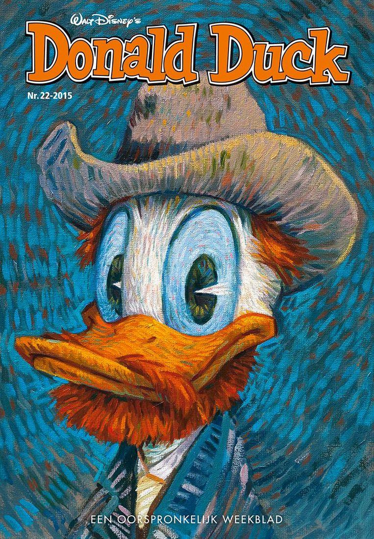 Een cover uit 2015 Beeld Donald Duck
