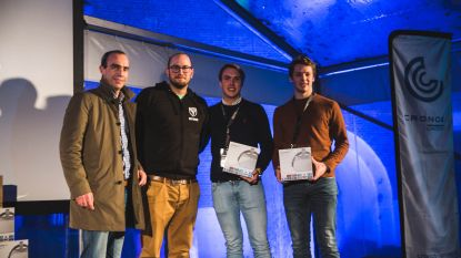 Koekelarenaar Wiebe wint prestigieuze ICT-wedstrijd met nationale inzet