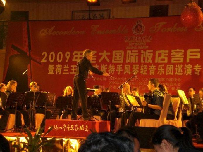Speciaal voor de concerten in China werd het repetoire aangepast. Foto: Hanneke Verhoeven