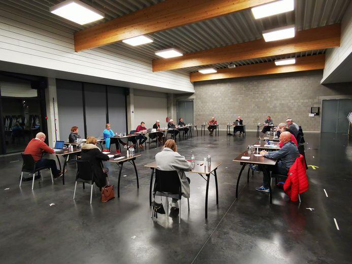 de gemeenteraad van Ruiselede