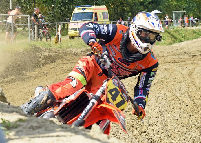 Timo Dhanis uit Terneuzen was de beste Zeeuw in de 250 cc.