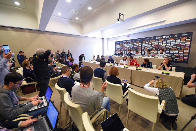 Cycling: 52nd Tirreno-Adriatico 2017 / Press Conference