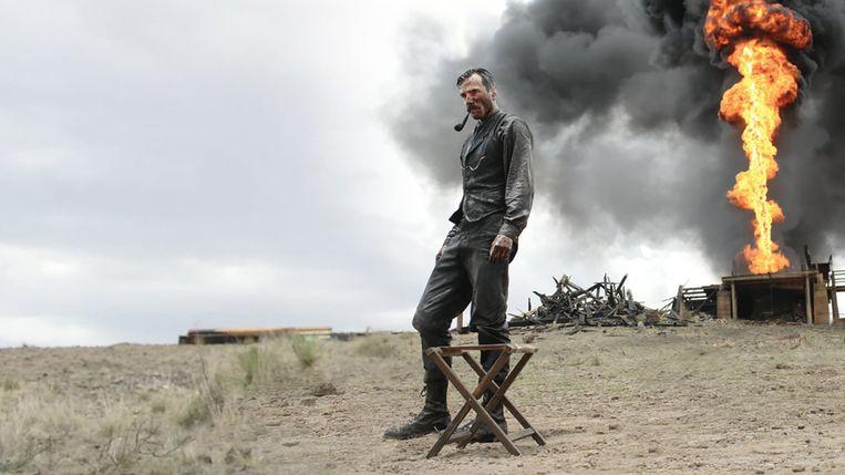 Beeld uit 'There Will Be Blood' (2007) met Daniel Day-Lewis . Beeld TMDb