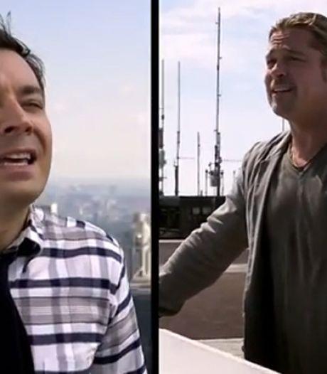 Quand Brad Pitt se met au (faux) chant tyrolien