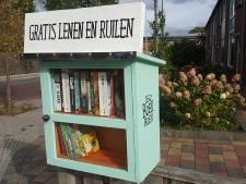 Minibieb in Nijverdal nu al succes