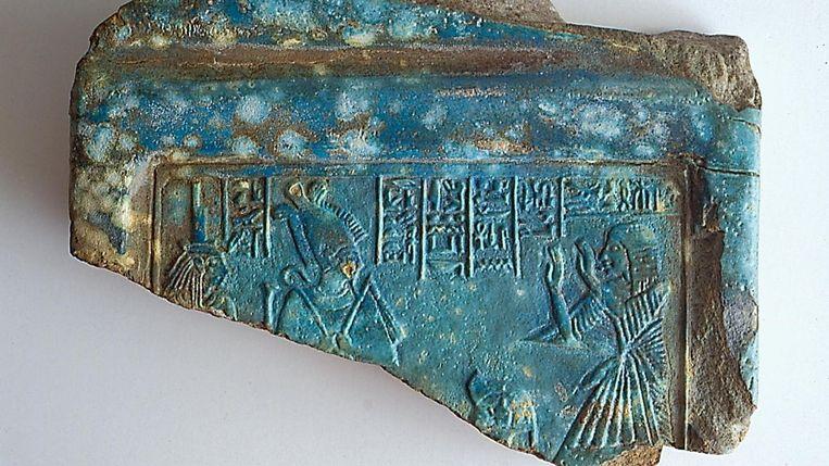 Het door Samuel Goudsmit gestolen reliëf. Beeld Kelsey Museum