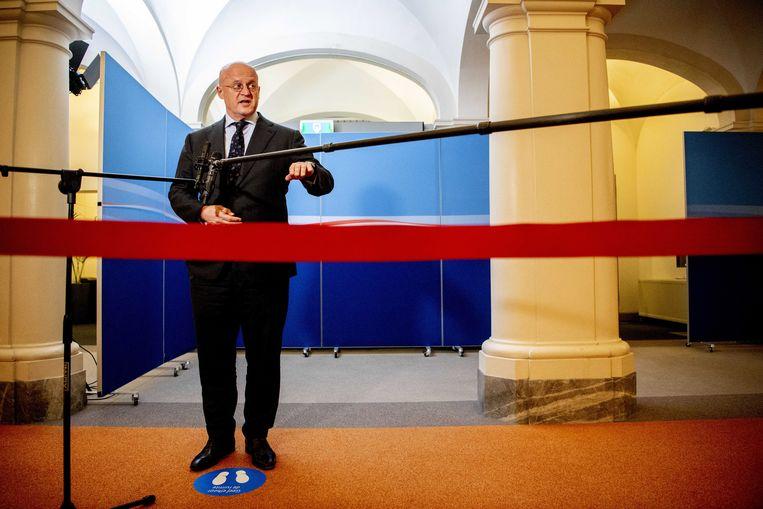 Minister Ferd Grapperhaus. Beeld EPA