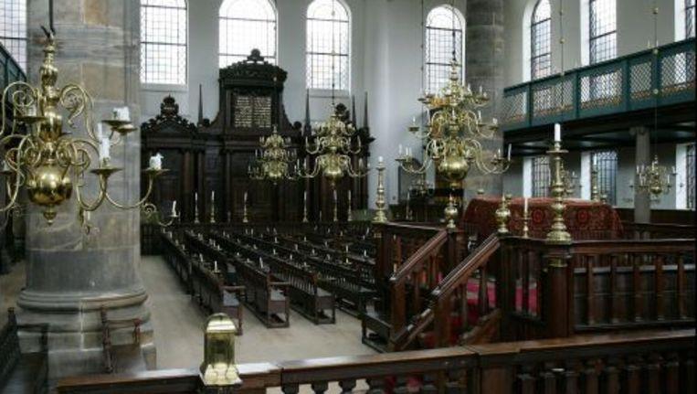 De Portugese Synagoge in Amsterdam wordt gerestaureerd. Foto ANP Beeld