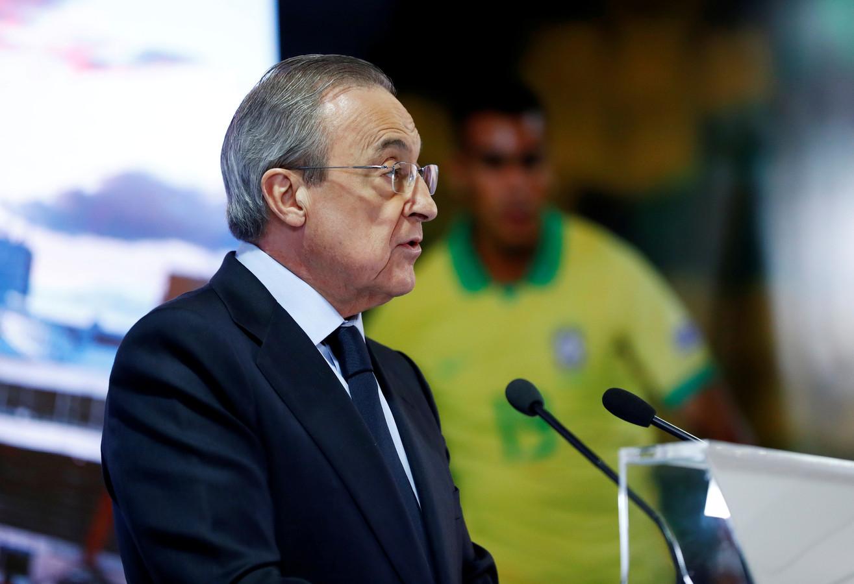Florentino Pérez lijkt president van Real Madrid te blijven.