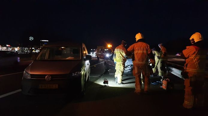 Ongeval op A35