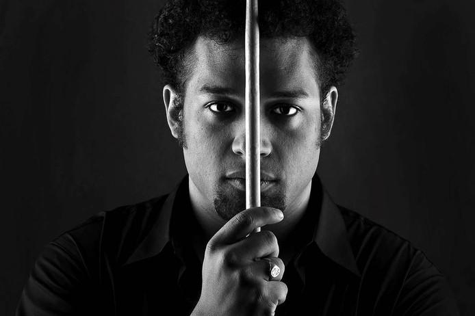 Makaya McCraven, een van de jazzmuzikanten die naar Doornroosje komt. foto pr