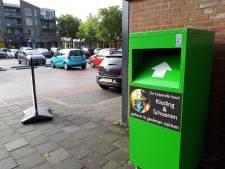 Helpende Handen Oss wil af van illegale kledingcontainer van De Helpende Hand: 'Zo verwarrend'