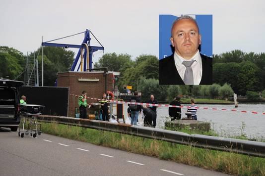 Het stoffelijk overschot van Festim Lato werd vrijdag aangetroffen in het Amsterdam-Rijnkanaal. Een rechercheteam (TGO) onderzoekt zijn dood..