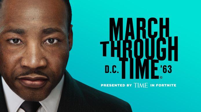 Fortnite-spelers kunnen vanaf vandaag wel iets heel interessants spelen: een interactieve geschiedenisles over de civil rights movement in de jaren 60 onder leiding van Martin Luther King Jr.