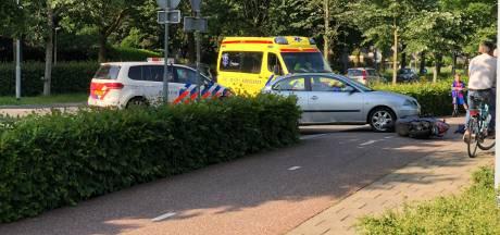 Scooterrijder gewond na val op fietspad in Groesbeek