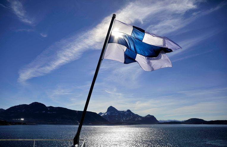 De Finnen zijn het 'allergelukkigst'.  Beeld AP