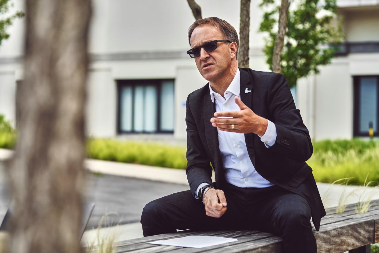 Rik Van de Walle: 'Als we niet drastisch durven in te grijpen op de plekken waar besmettingen zich voordoen, zal het opnieuw snel fout lopen.' Beeld Thomas Nolf