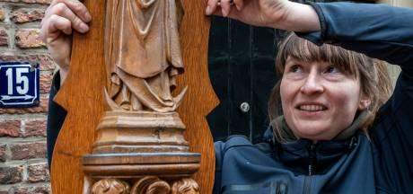 Mariabeeld bij valpartij van muur gerukt en uit Binnendieze gevist: 'Ze ziet er weer prachtig uit'