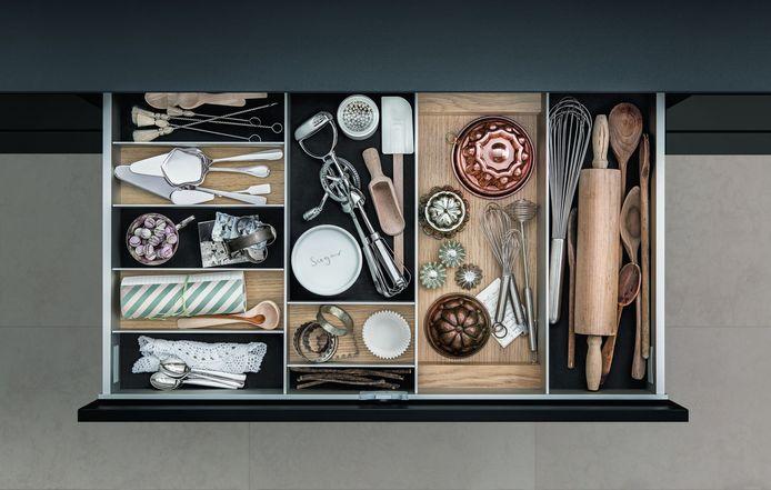 Je verliest veel functionaliteit in je keuken als je lades niet volledig uittrekbaar zijn.