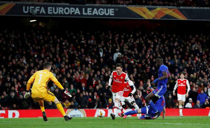 Olympiakos schakelde vorig jaar in deze ronde Arsenal uit, door met 1-2 te winnen in het Emirates Stadium.