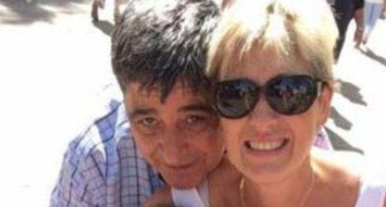 De foto moet enkele momenten voor de crash genomen zijn: Francisco López Rodríguez en zijn echtgenote. Zij woonden al enkele jaren in Barcelona, maar waren oorspronkelijk uit Granada. Beeld RV