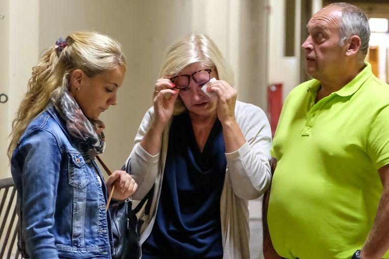 Marina had de steun van haar man en dochter nodig om te bekomen van de getuigenis van haar aanvaller over zijn voorbereiding.
