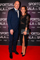Philippe Clement en zijn vrouw Isabelle