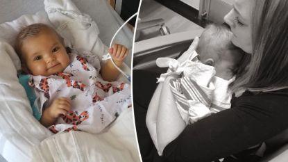 Moeder deelt hartverscheurende laatste foto met dochtertje en smeekt mensen orgaandonor te worden