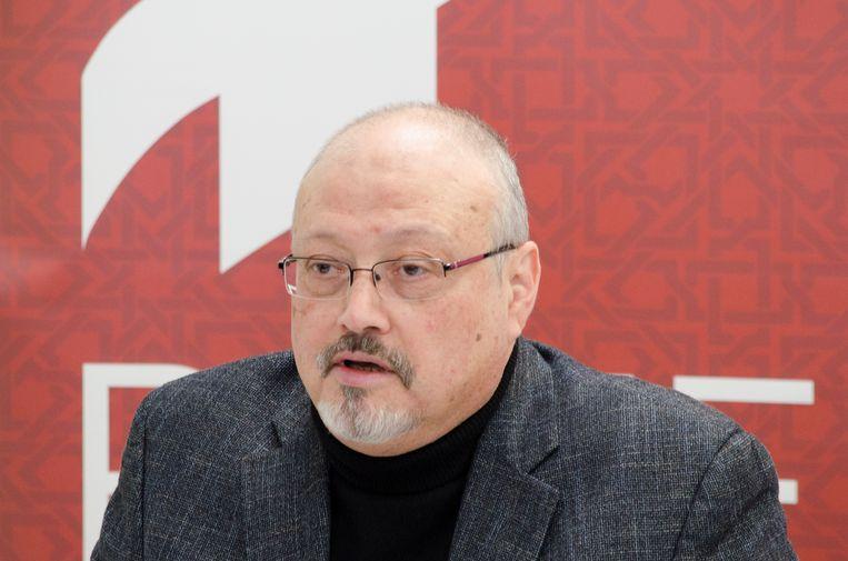 Jamal Khashoggi Beeld