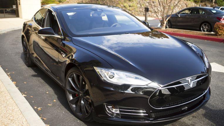 Een Tesla S. Beeld REUTERS