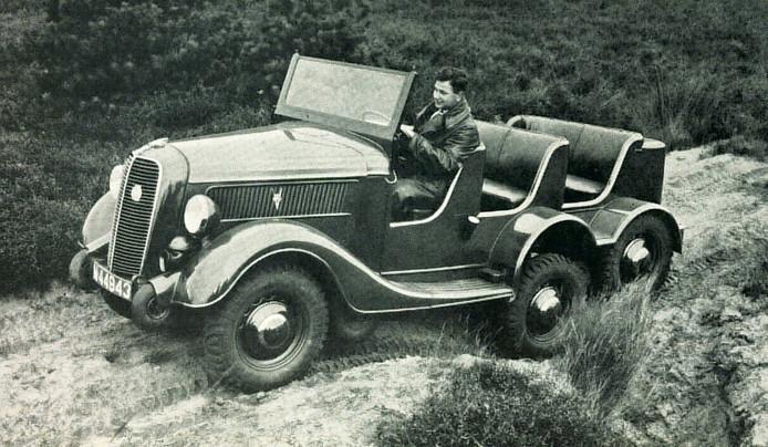 DAF ontwikkelde in 1936 zijn eerste legervoertuig, de Trado,  genoemd naar legerofficier Van der Trappen en Van Doorne.