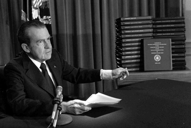 Richard Nixon. Beeld AP