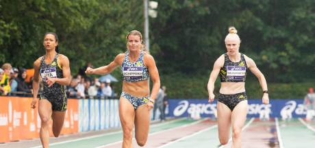 Dafne Schippers is 'echt' blij met haar Nederlandse titel in Breda