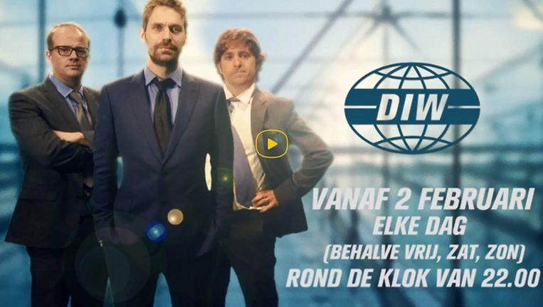 Vlaanderen ziet Jelle De Beule, Otto-Jan Ham en Sven De Leijer niet meer terug in 'De ideale wereld'. Beeld SBS Belgium